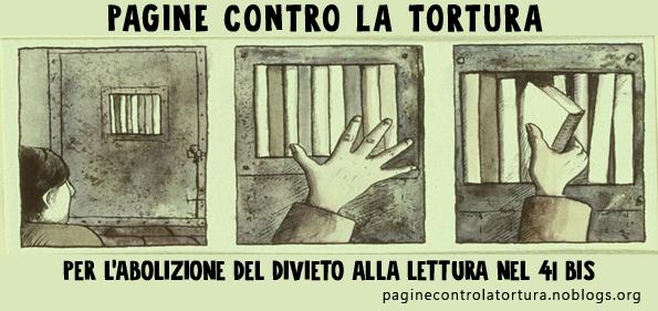 Fiera nazionale dell'editoria indipendente 24/26 marzo 2017 Milano – Intervento campagna paginecontrolatortura